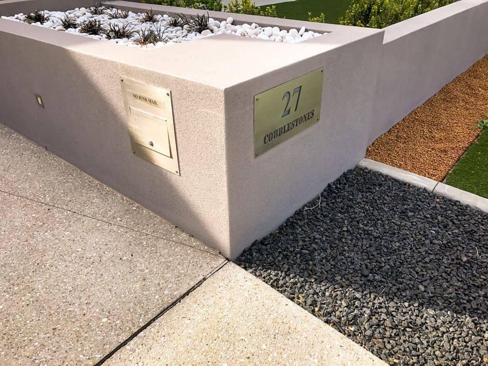 Corner letterbox #aussieletterboxes
