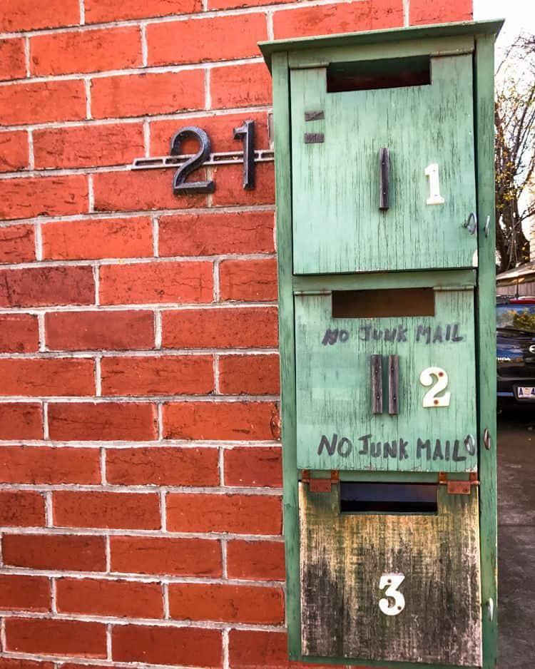 No junk mail