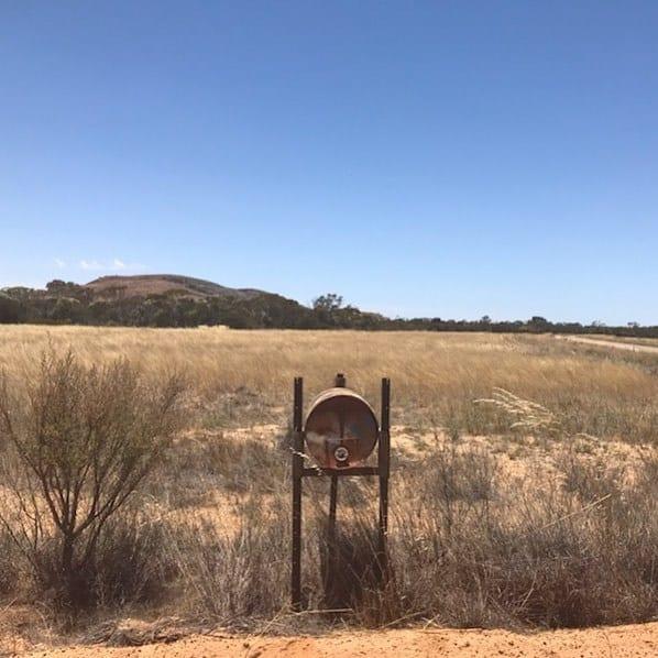 Western Australian letterbox
