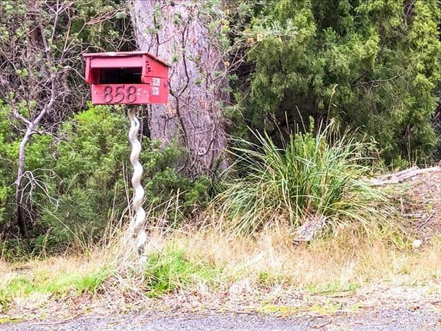 Port Arthur letterbox