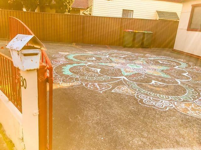 Mandala and letterbox