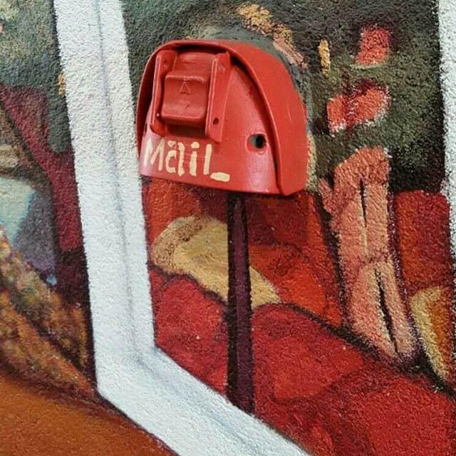 Artistic letterbox