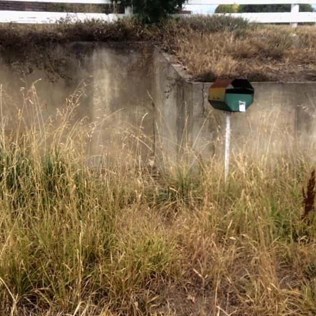 Deserted letterbox