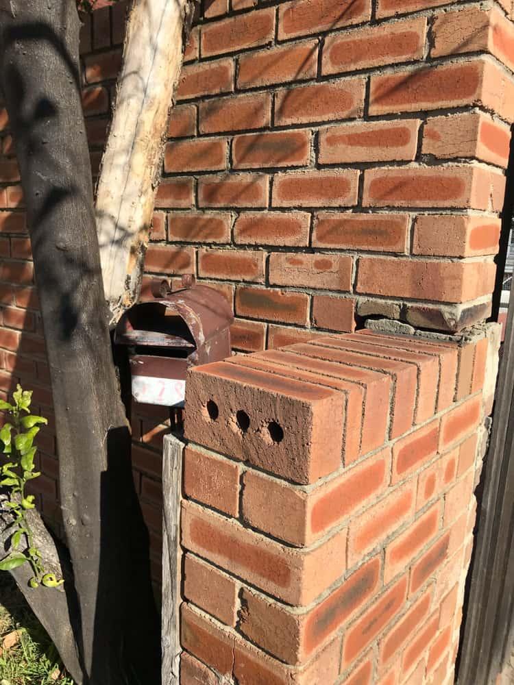 Elderly letterbox