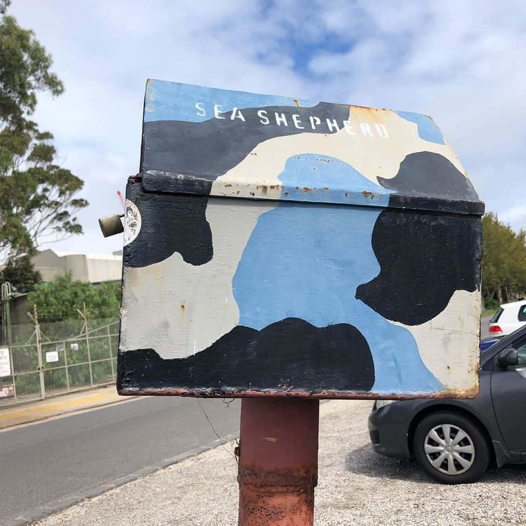 Sea Shepherd letterbox