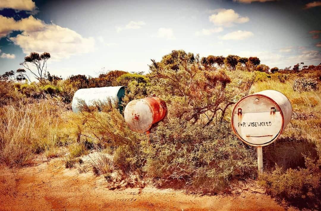 Aussie letterboxes