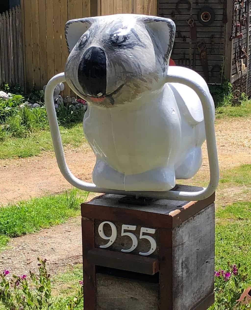 Koala with handles?