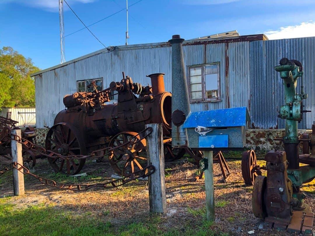 Steam train letterbox